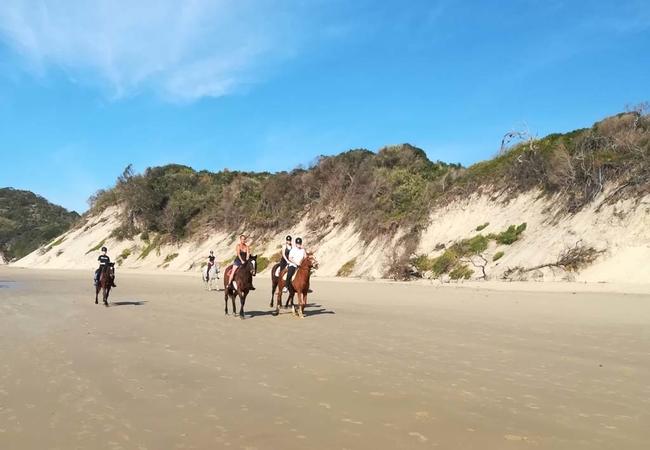 Horse riding at Chintsa