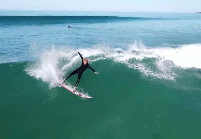 Surfing at Glengariff