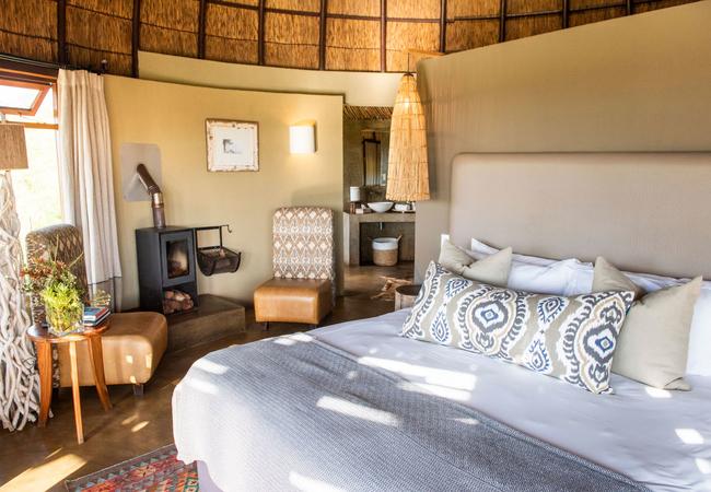 Kwena Lodge Bedroom
