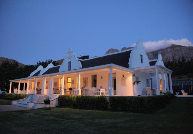 Manor House by night