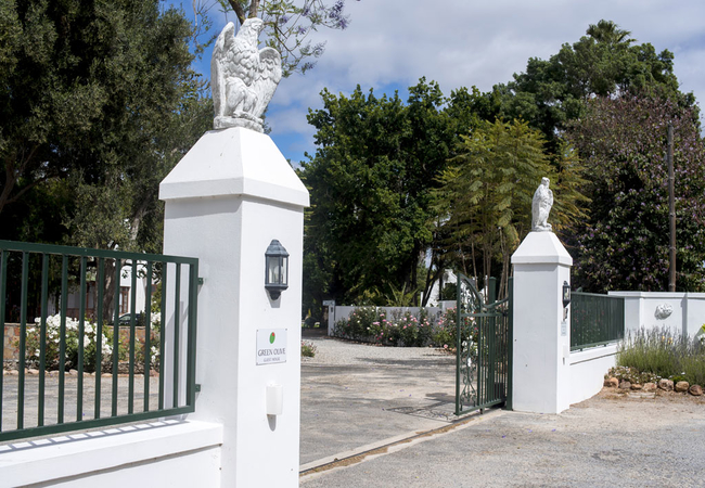 Entrance to the Guest house