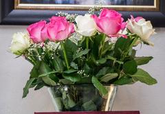 Reception blooms