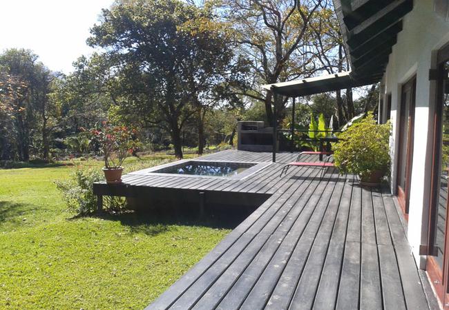 Herb Cottage - front deck