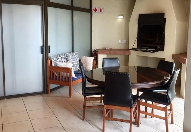 Upper level indoor braai
