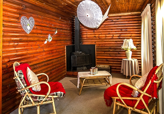 2-Sleeper Chalets (with fireplace)