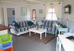 Guinea Fowl Cottage living room