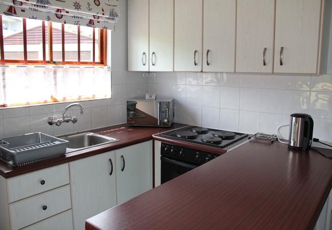 Bosuns Cottage kitchen