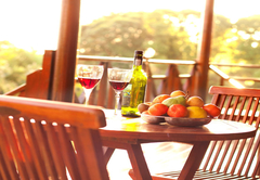 The Cabana deck