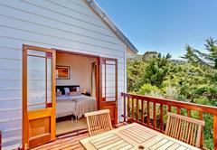 Bedroom Kakapo with balcony