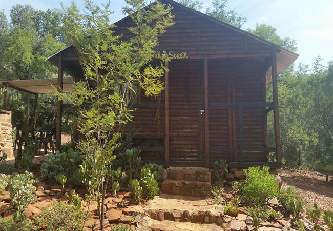 Wooden House Haak en Steek