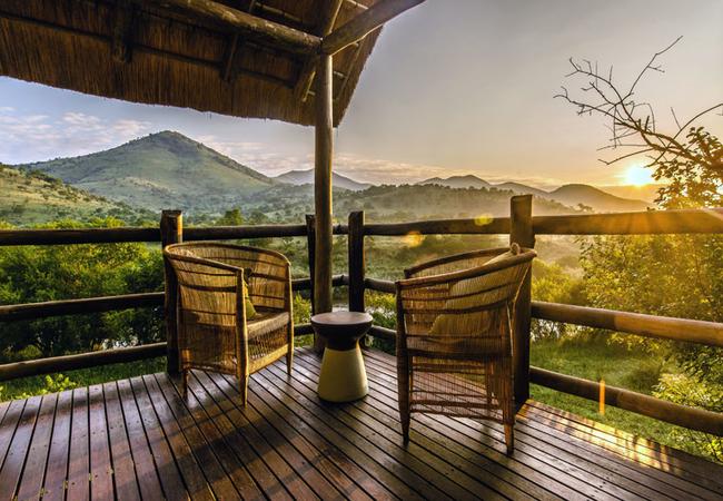 River Lodge - Balcony