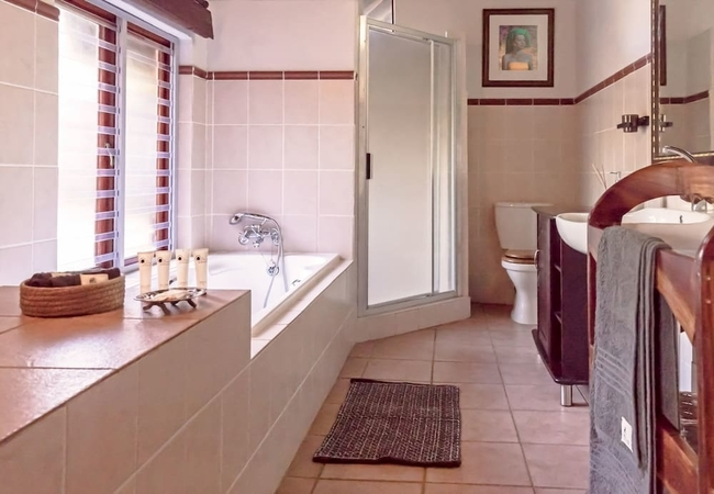 Zebra Room Bathroom