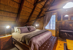 Inyoka Cabin deck