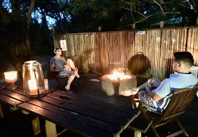Braai area at The Cabin