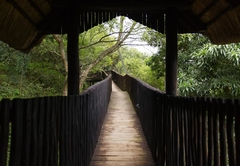 Walkway to Chalet 6