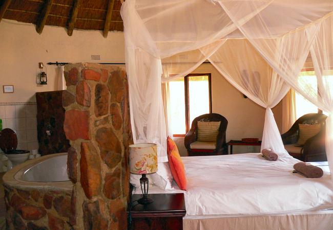 Izintaba Lodge bedroom