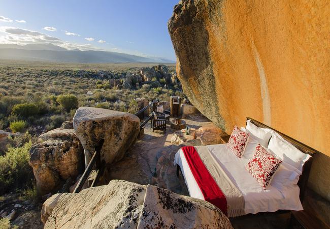 Premium Cave Suite sleep-out