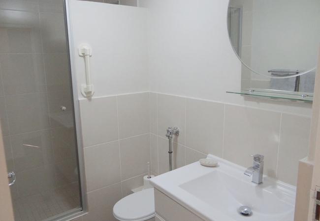 Bathroom Flame Lily