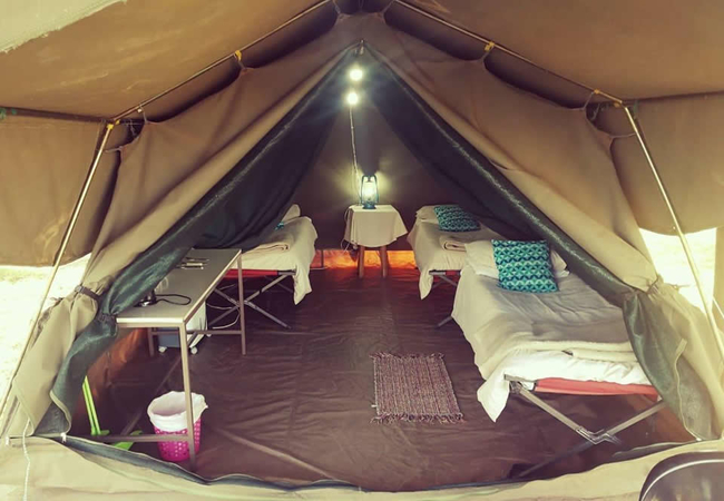 Three-Sleeper River Tent