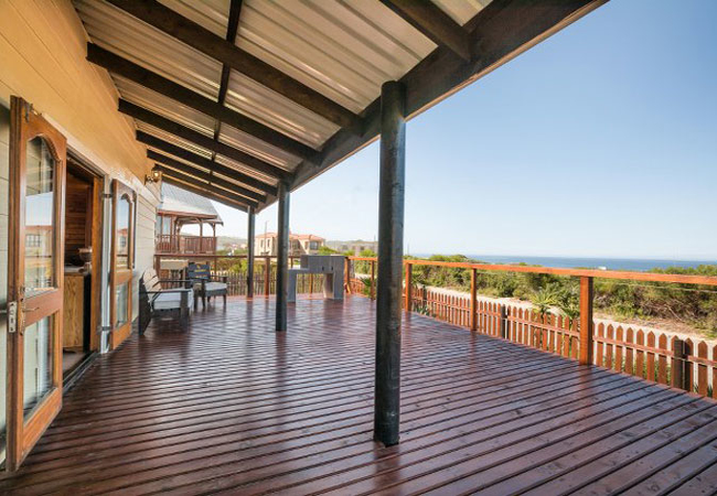 Front Patio with Sea Views