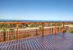 Front sea facing deck