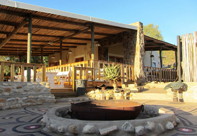Firepit and Restaurant