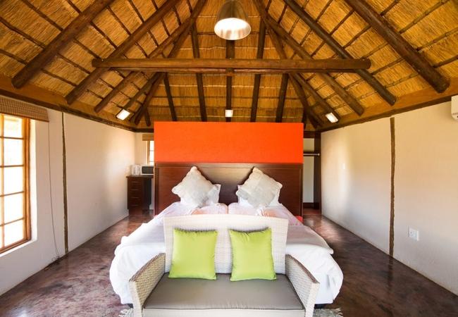 One Room Chalet Garden View