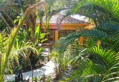 Garden and room entrance