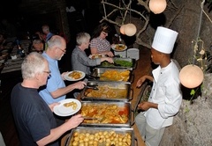 Boma buffet dinner