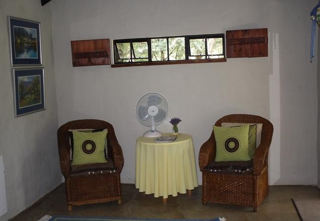 Olive Tree sitting area
