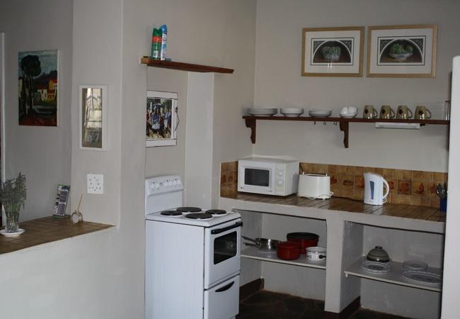 Lavender Cottage kitchen