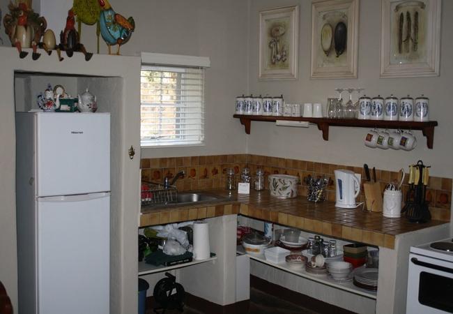 Geranium cottage kitchen