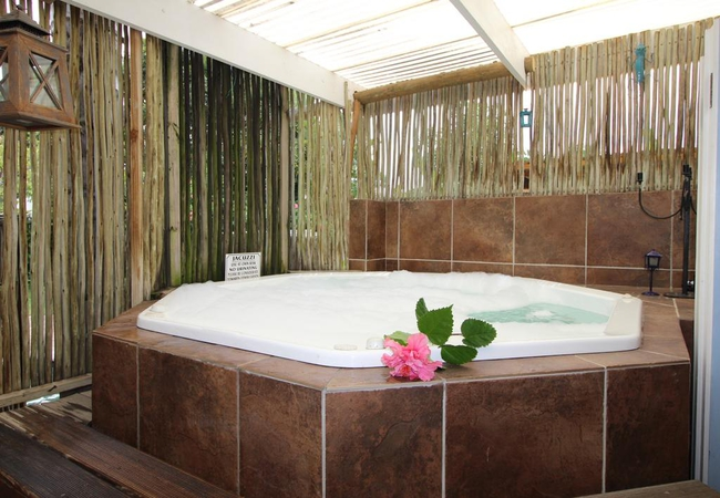 Jacuzzi For Superior Room only