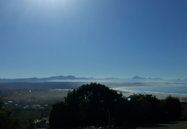 Sea and Mountain View from Sundeck