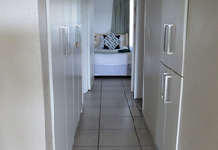 Passage to bedrooms