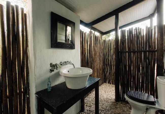 Acacia Outside Bathroom