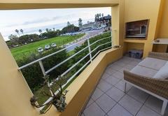 Balcony with BBQ / Braai