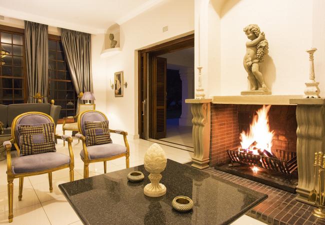 The Lounge at Leeuwenhof Country Lodge