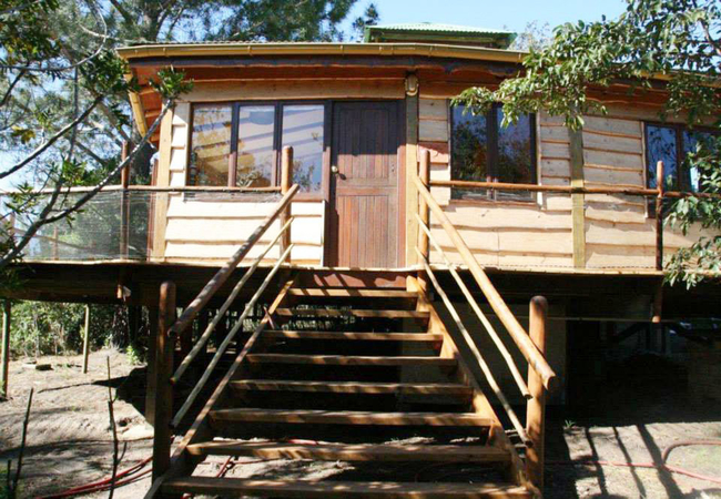 Jispa Cottage deck