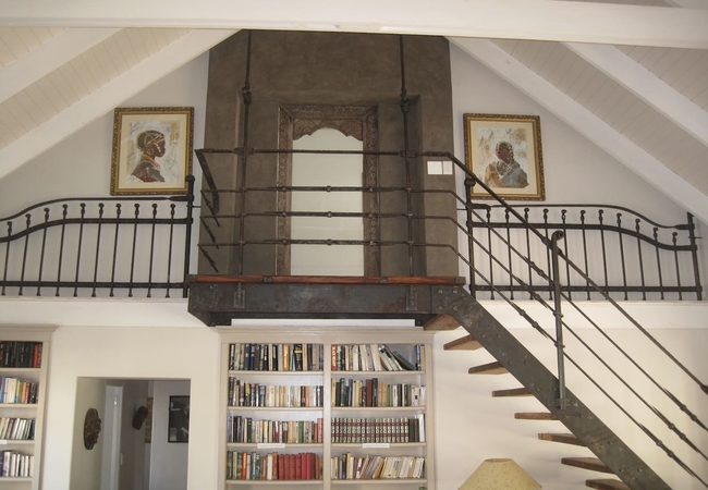 Entrance to upstairs bedroom