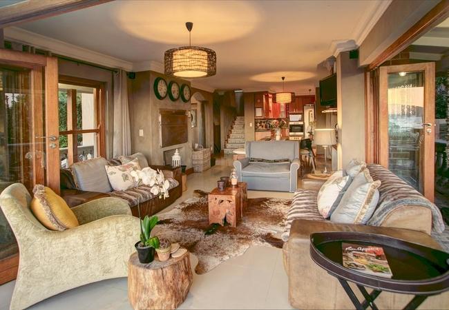 Lounge indoor braai