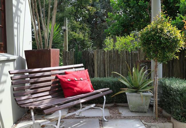Honeymoon suite private patio