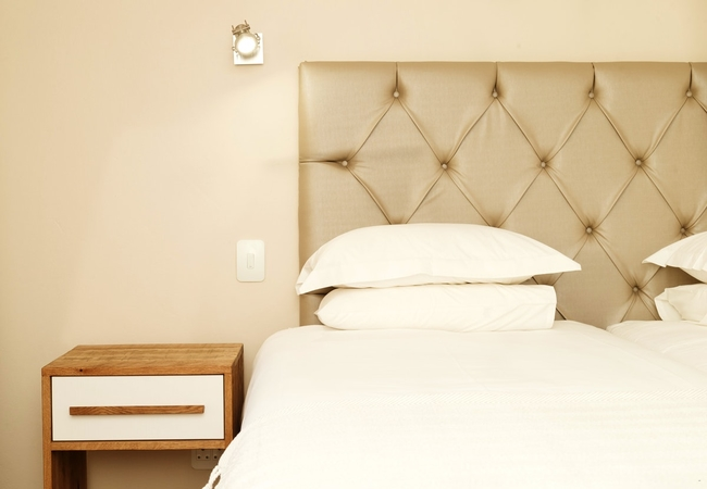 Courtyard Room Double Bed