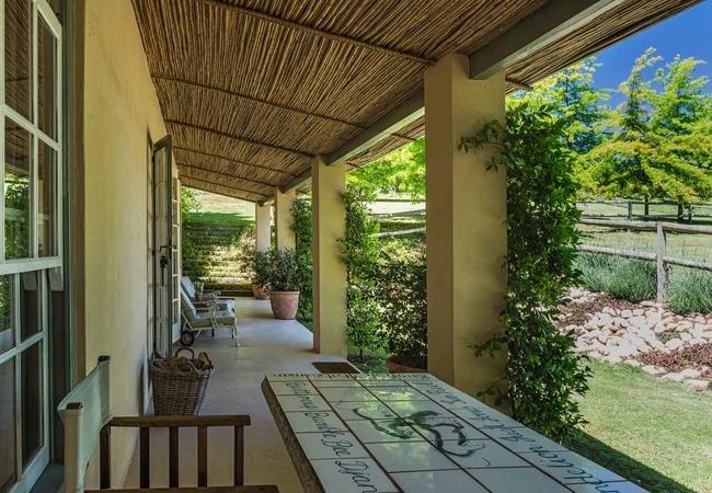 Stables veranda