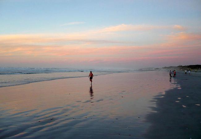 Yzerfontein beach