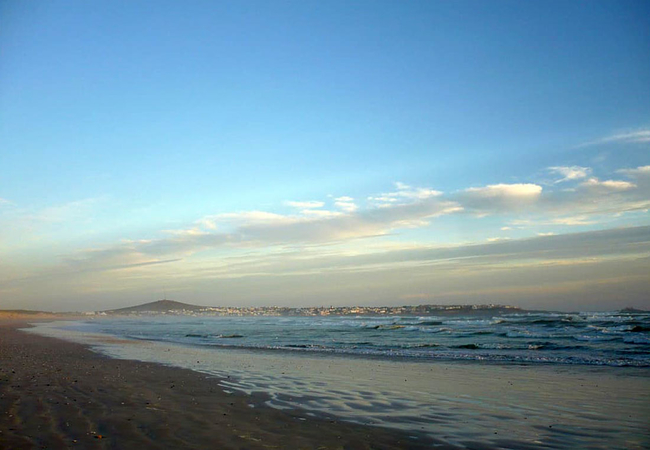 Yzerfontein from 16 mile beach