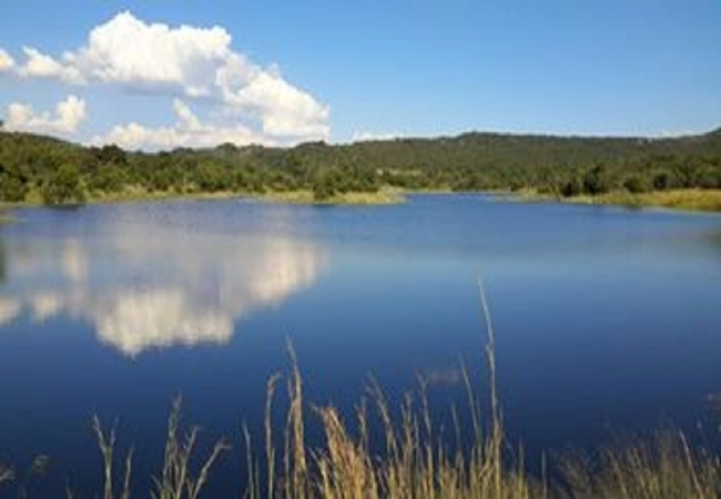 Gorkhum dam 10 mins drive from lodge. Great bird and animal viewing.