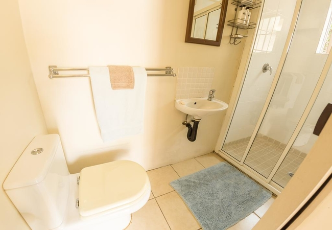 Budget room bathroom
