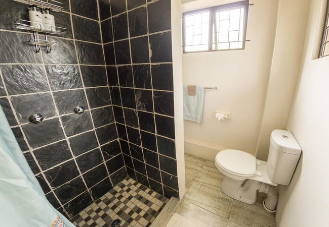 Budget room shower