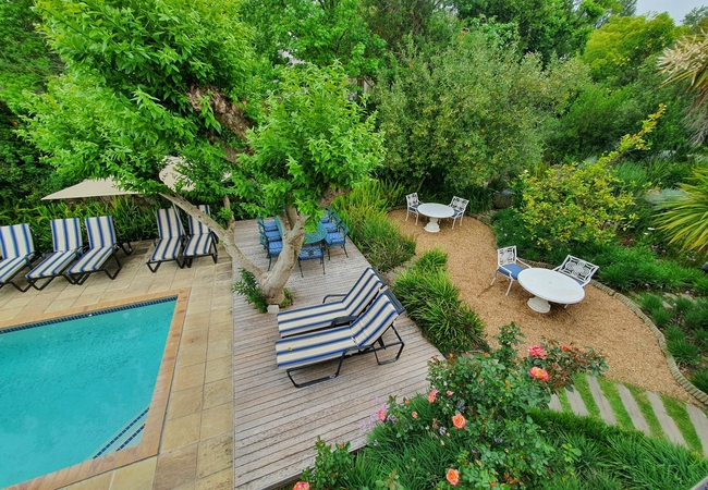 Superior Double room and balcony upstairs